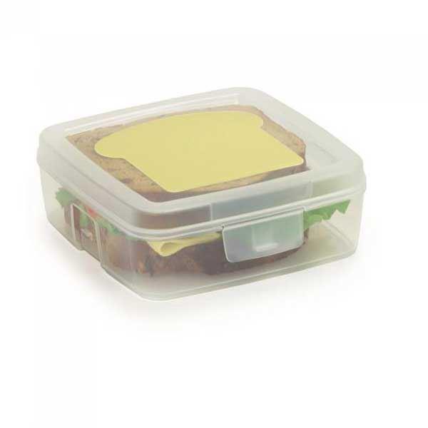תמונה של קופסת אוכל שקופה לילדים