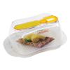 תמונה של כלי לאחסון חמאה גדול כולל סכין מריחה