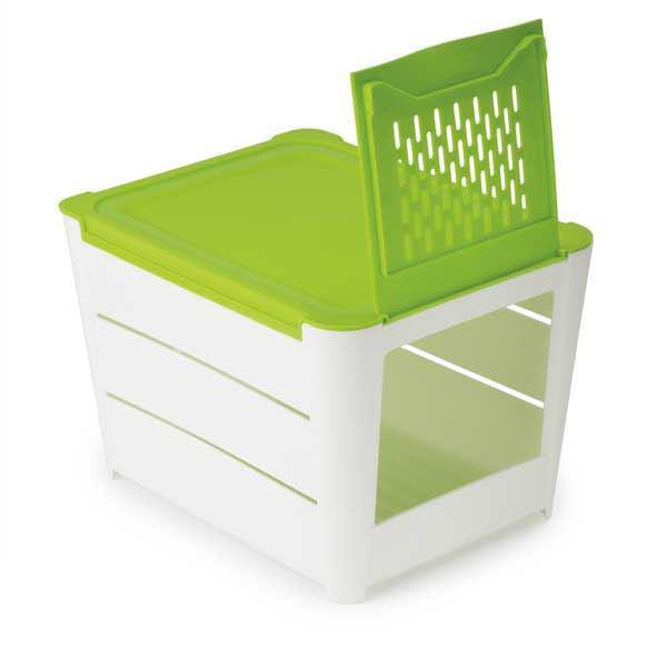 תמונה של קופסה לאחסון ושמירת טריות תפוחי אדמה, גזר ובצל