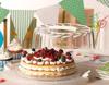 תמונה של מגש לעוגה עם מכסה גבוה