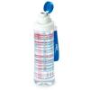 תמונה של בקבוק מים רב פעמי 0.75 ליטר עם עיטור כחול אדום