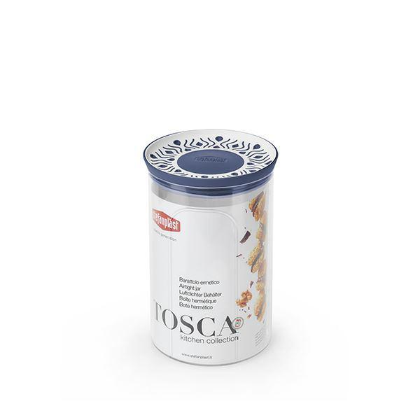 תמונה של קופסת אחסון עגול 1.2 ליטר Tosaca