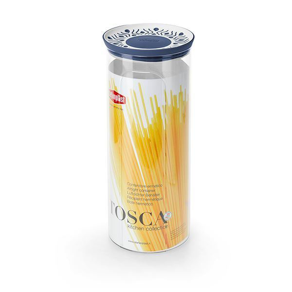 תמונה של קופסת אחסון עגול 2.2 ליטר Tosaca