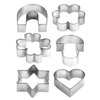 תמונה של סט חותכי עוגיות בצורות שונות  Tescoma