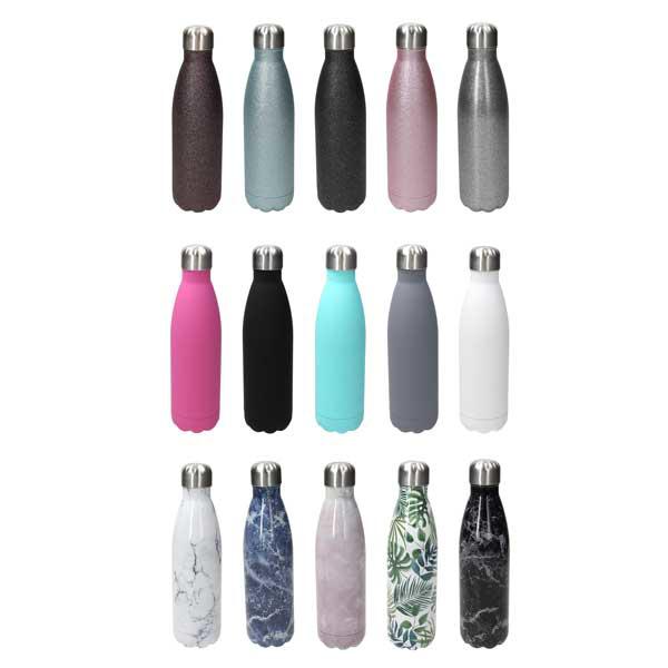 """בקבוק תרמי 500 מ""""ל במגוון דוגמאות"""