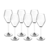 6 גביעי יין דגם Bollicine