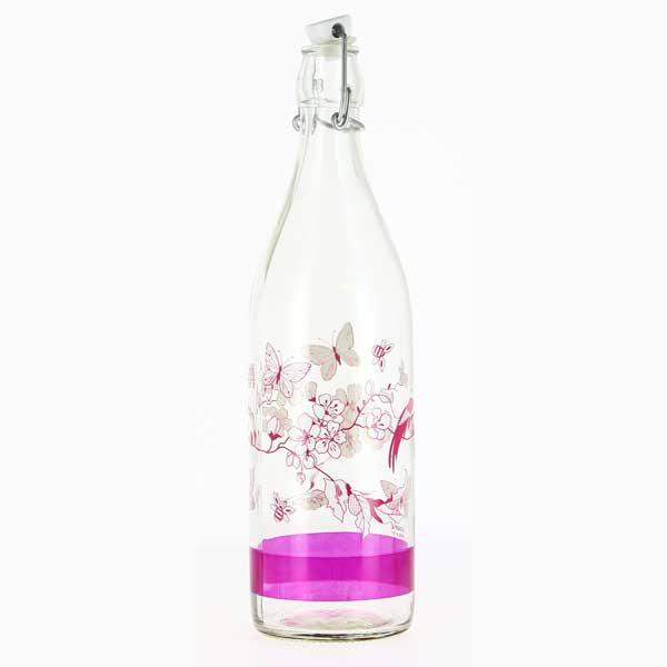 בקבוק מים 1 ליטר עם פקק אטום מבית Cerve Italy