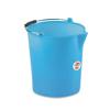 דלי שטיפה עם פיה 12 ליטר כחול