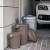 פח אשפה 23 ליטר מפלסטיק אפור מבית Stefanplast- תמונת אוירה