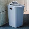 סל כביסה עם מכסה בנפח 50 ליטר מבית Stefanplast - תמונת אוירה