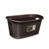 סלסלה לכביסה בנפח 35 ליטר בצבע מוקה מבית Stefanplast