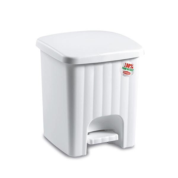 פח אשפה 4.5 ליטר Primavara לבן