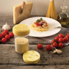 מיכל לפיזור פתיתי גבינה קשה פרמזן
