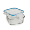קופסת אוכל מחולקת 0.8 ליטר מרובע SnipLock