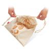 שקית כותנה אורירית לאחסון לחם